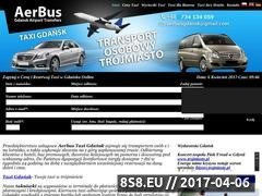 Thumbnail of Gdansk Airport Transfer Website