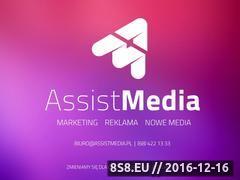 Miniaturka domeny www.assistmedia.pl
