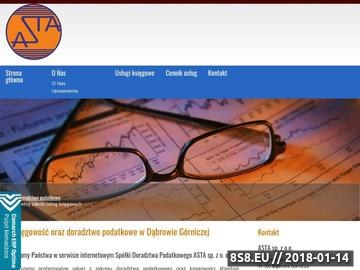 Zrzut strony Asta - biuro rachunkowe
