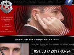 Miniaturka domeny astrea-ochrona.pl