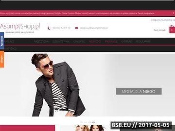 Zrzut strony Odzież męska z USA - Asumptshop.pl