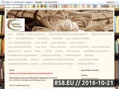 Miniaturka Zaproszenia ślubne i kartki okolicznościowe (atelieriwony.blogspot.com)