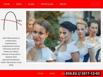 Zrzut strony Projektantka ubioru