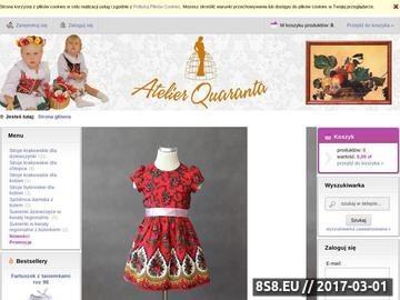 Zrzut strony Kostiumy karnawałowe: produkujemy kostiumy historyczne, teatralne i karnawałowe