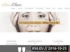 Miniaturka domeny atenaclinic.pl