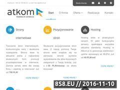 Miniaturka domeny www.atkom.pl