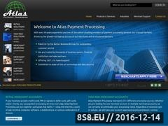 Thumbnail of Credit Card Processing Solution Website