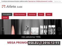 Miniaturka domeny www.atleta.pl