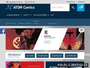 Zrzut strony Komiksy Marvel