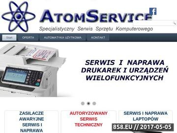 Zrzut strony Naprawa upsów - Atom Service