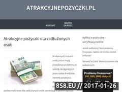 Miniaturka domeny www.atrakcyjnepozyczki.pl