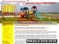 Miniaturka domeny www.atut-placezabaw.pl