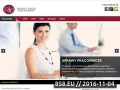 Miniaturka domeny www.audytlegis.pl