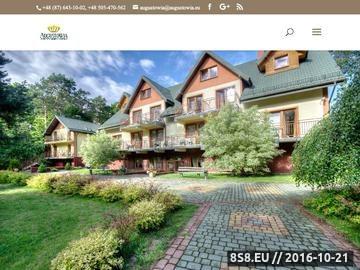Zrzut strony Hotele Augustów