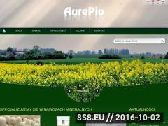 Miniaturka domeny www.aurepio.pl