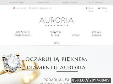 Zrzut strony Pierścionek zaręczynowy Auroria