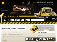 Miniaturka domeny auto-holowanie-szczecin.pl