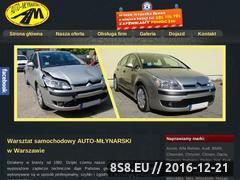 Miniaturka domeny www.auto-mlynarski.pl