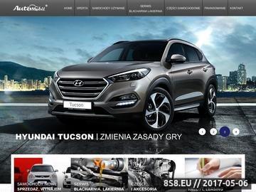 Zrzut strony Serwis Hyundai