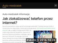 Miniaturka domeny auto-niedzialek.pl
