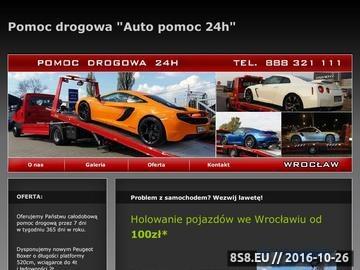 Zrzut strony Auto pomoc Wroclaw