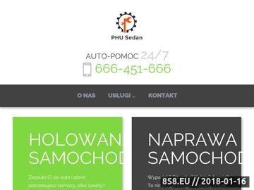Zrzut strony Usługi - pomoc drogowa Łódź