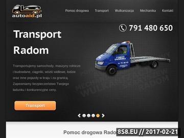 Zrzut strony Wulkanizacja i warsztat samochodowy w Skaryszewie