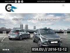 Miniaturka domeny www.autoakademia.com.pl