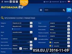 Miniaturka domeny www.autobazar.eu