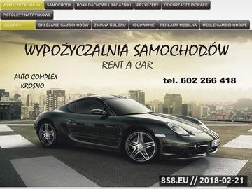 Zrzut strony Wypożyczalnia samochodów Rzeszów