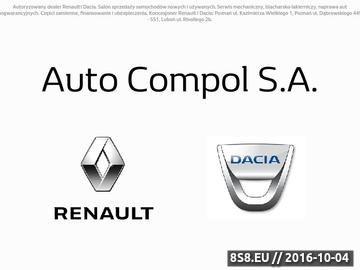 Zrzut strony Serwis Renault Poznań