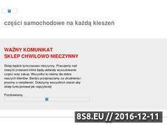 Miniaturka domeny www.autoczesci.autosowa.pl
