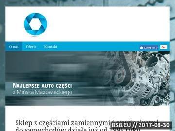 Zrzut strony Części samochodowe Mińsk Mazowiecki- amortyzatory