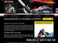 Miniaturka domeny www.autoefekt-szczecin.pl