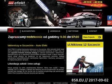 Zrzut strony Lakiernictwo Szczecin