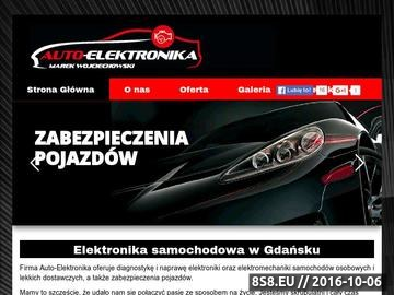 Zrzut strony Auto-Elektronika Car security