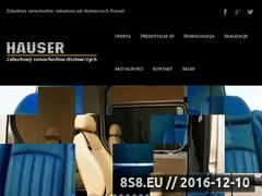 Miniaturka domeny www.autohauser.pl