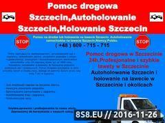 Miniaturka domeny www.autoholowanie-szczecin.com.pl