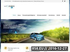 Miniaturka domeny www.autojazda.com.pl