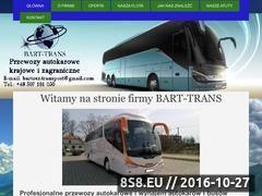 Miniaturka domeny www.autokary-bart-trans.pl