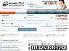 Miniaturka domeny www.autokary24.pl