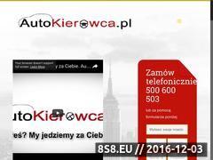 Miniaturka domeny autokierowca.pl