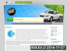 Miniaturka domeny autoklimatyzacja.net