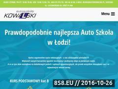 Miniaturka domeny www.autokowalski.pl