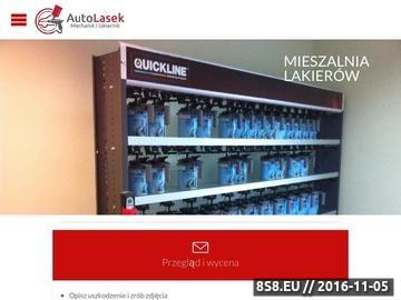 Zrzut strony Usługi motoryzacyjne AutoLasek