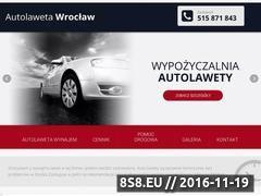 Miniaturka domeny autolaweta-wroclaw.com.pl