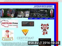 Miniaturka domeny autolin.pl