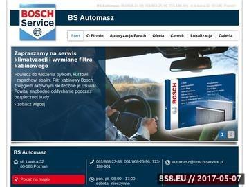 Zrzut strony Serwis samochodowy AuTomasz