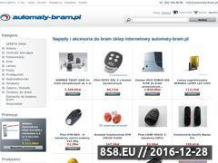 Miniaturka domeny www.automaty-bram.pl