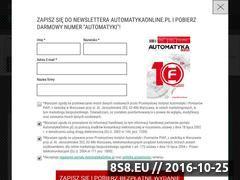 Miniaturka domeny automatykaonline.pl
